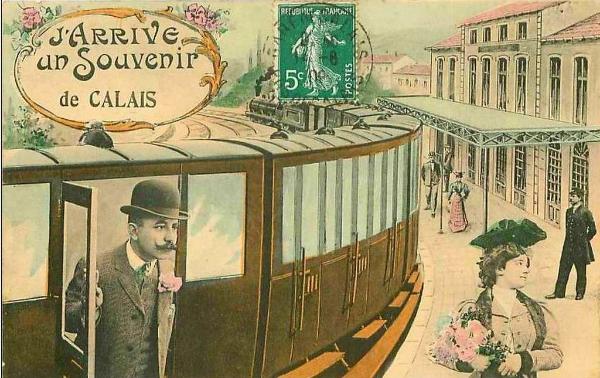 Carte postale de Calais ancienne