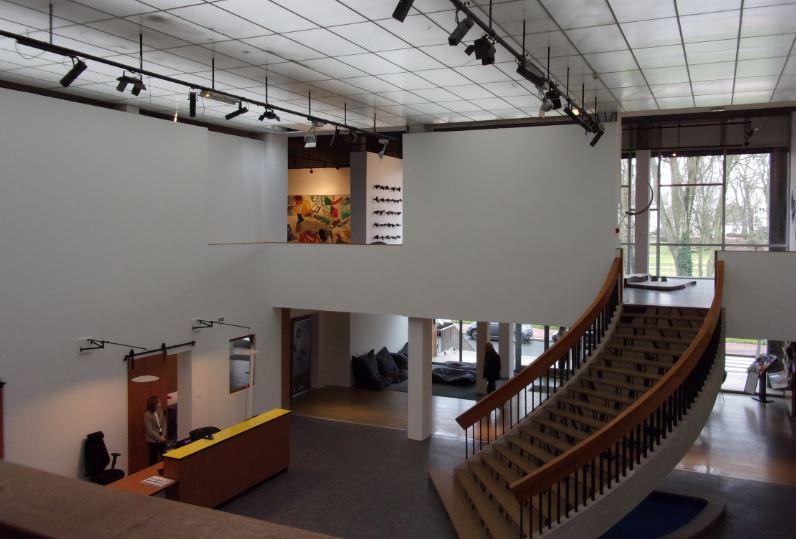 Nouvel aménagement à l'entrée du musée