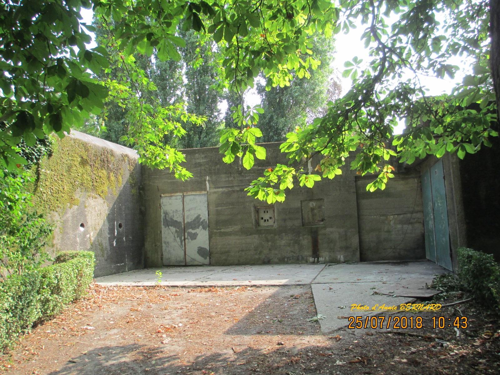 Un côté du musée de la mémoire