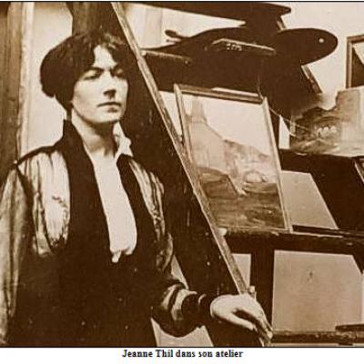 Jeanne THIL peintre orientaliste et native de Calais
