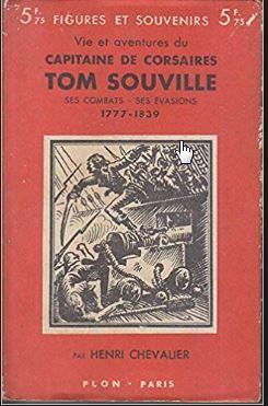 Livre sur le corsaire Tom Souville