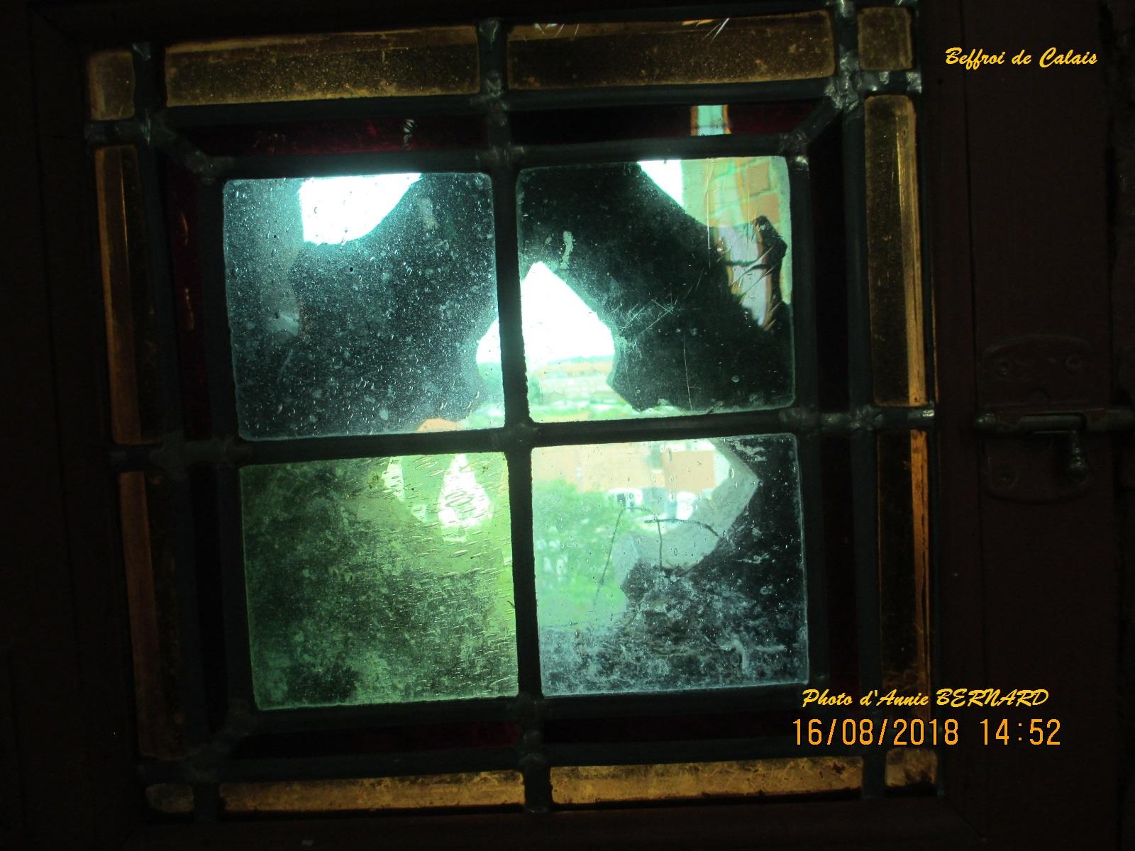 Fenêtre à l'intérieur du Beffroi
