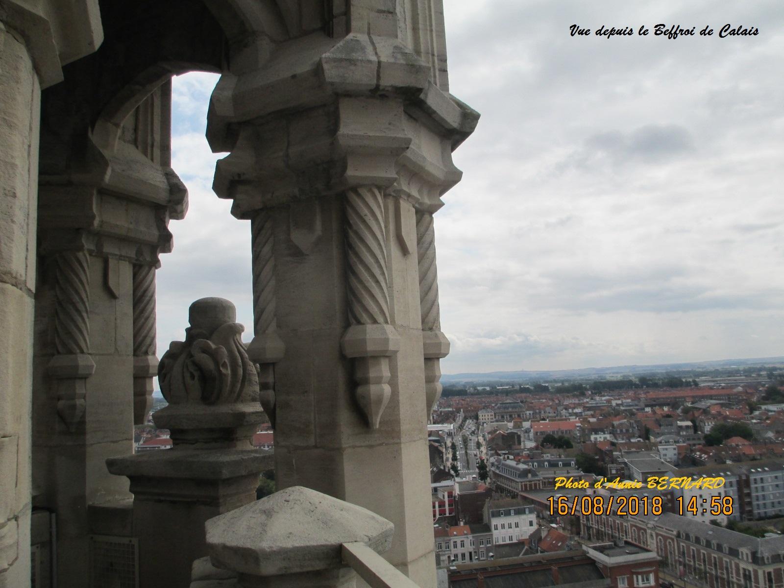 Calais vu d'en haut