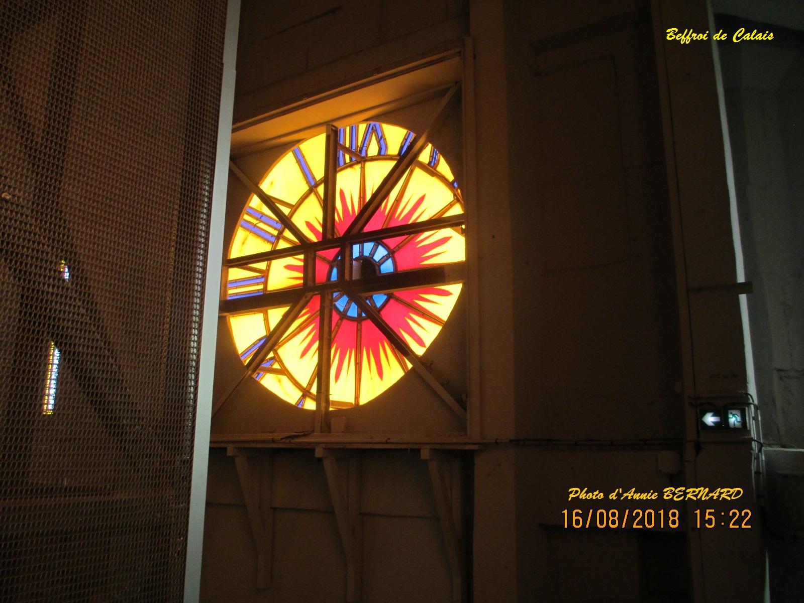 L' horloge de l'intérieur