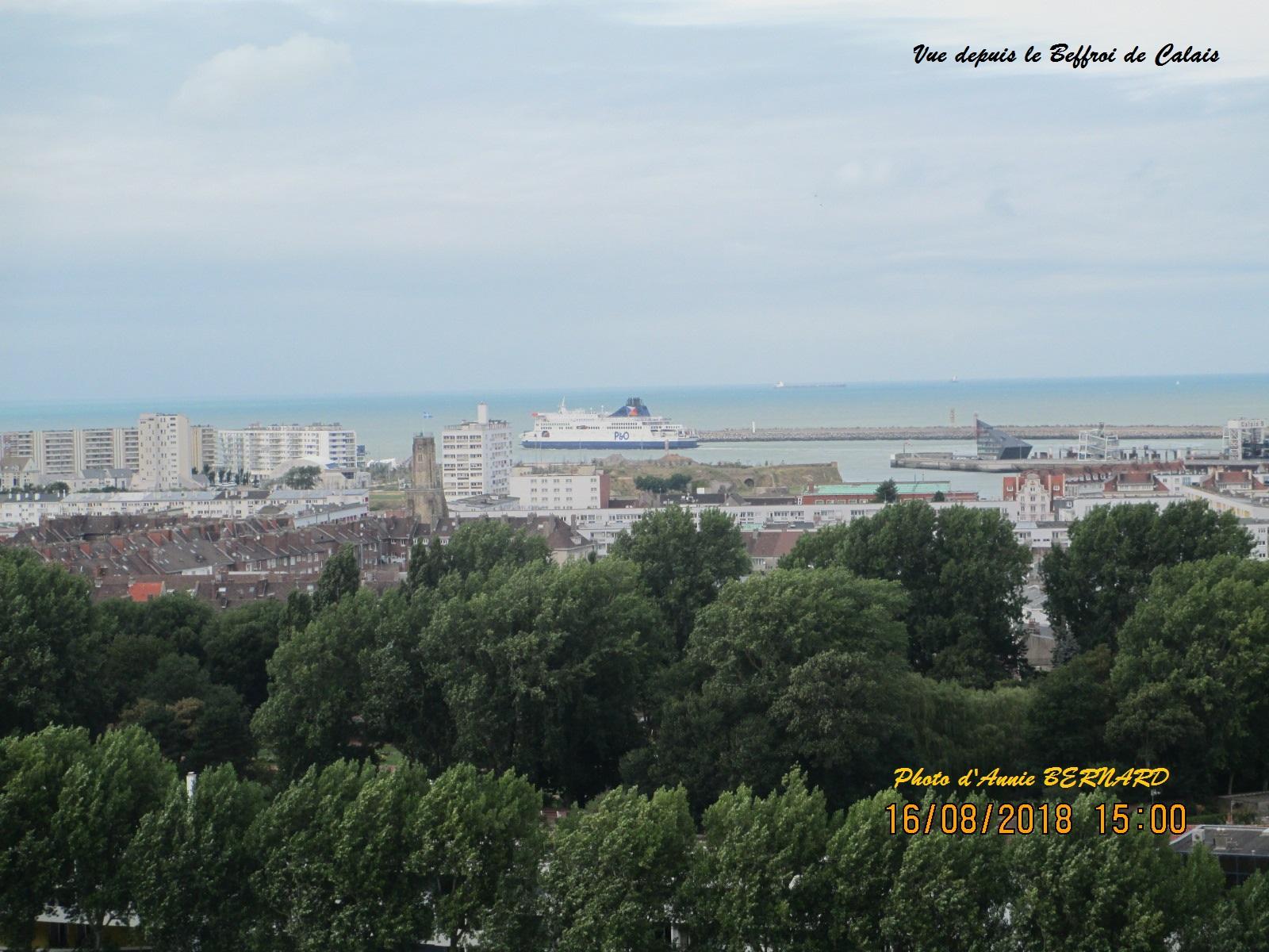 Vue sur Calais
