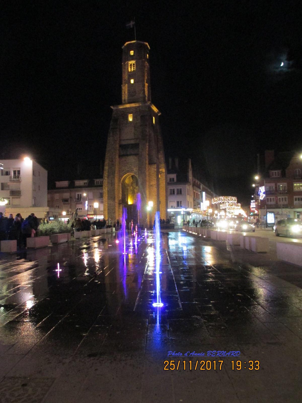 La Tour du Guet le soir