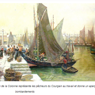 Georges ANDRIQUE peintre de Calais