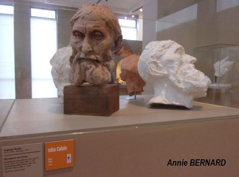 Tête d'un des six Bourgeois de Calais de Rodin