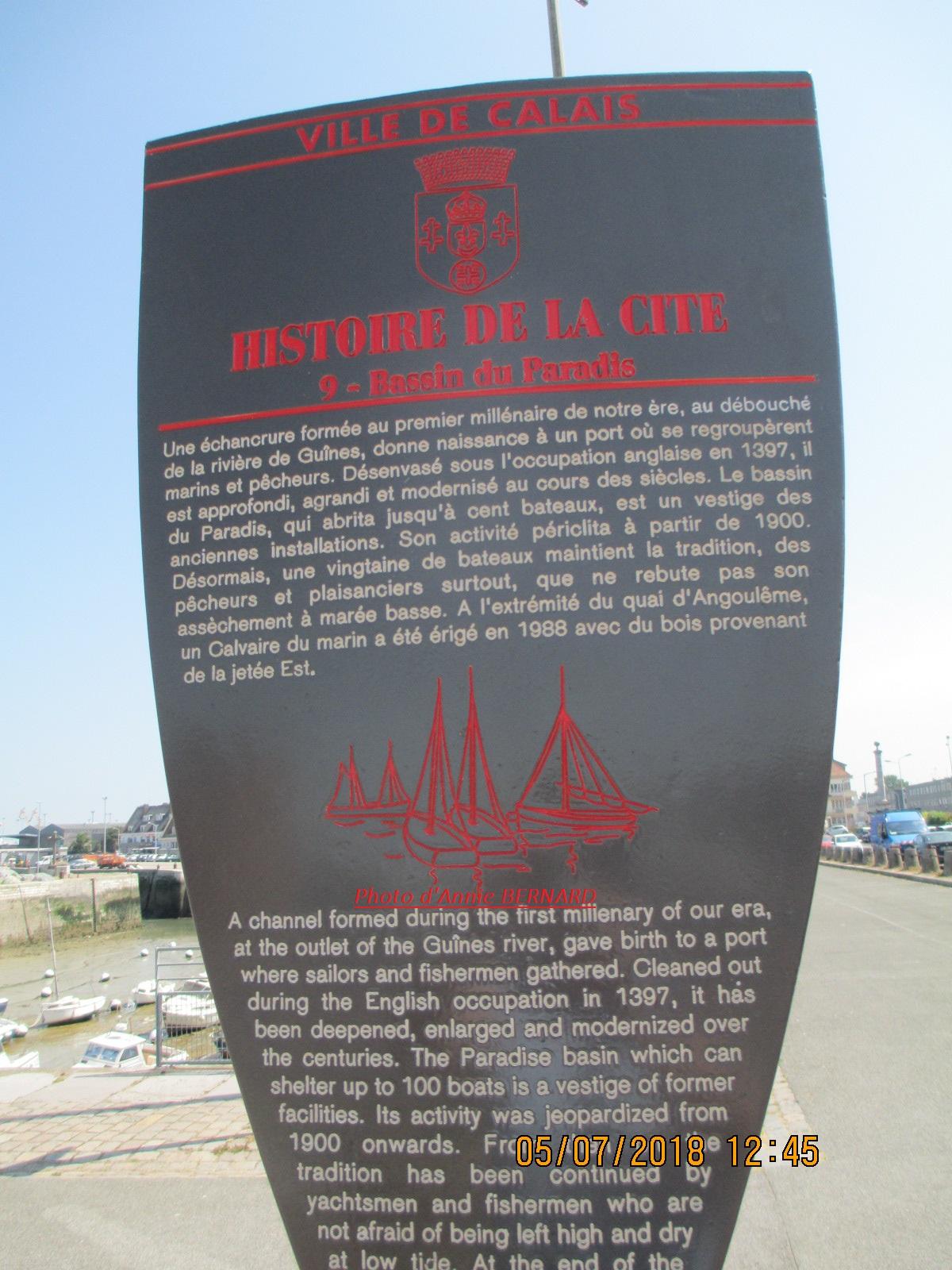 Infos sur le Bassin du Paradis