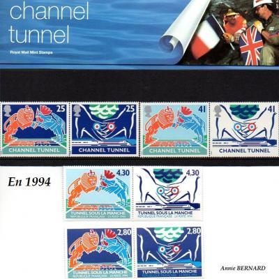 Tunnel sous la Manche à Coquelles