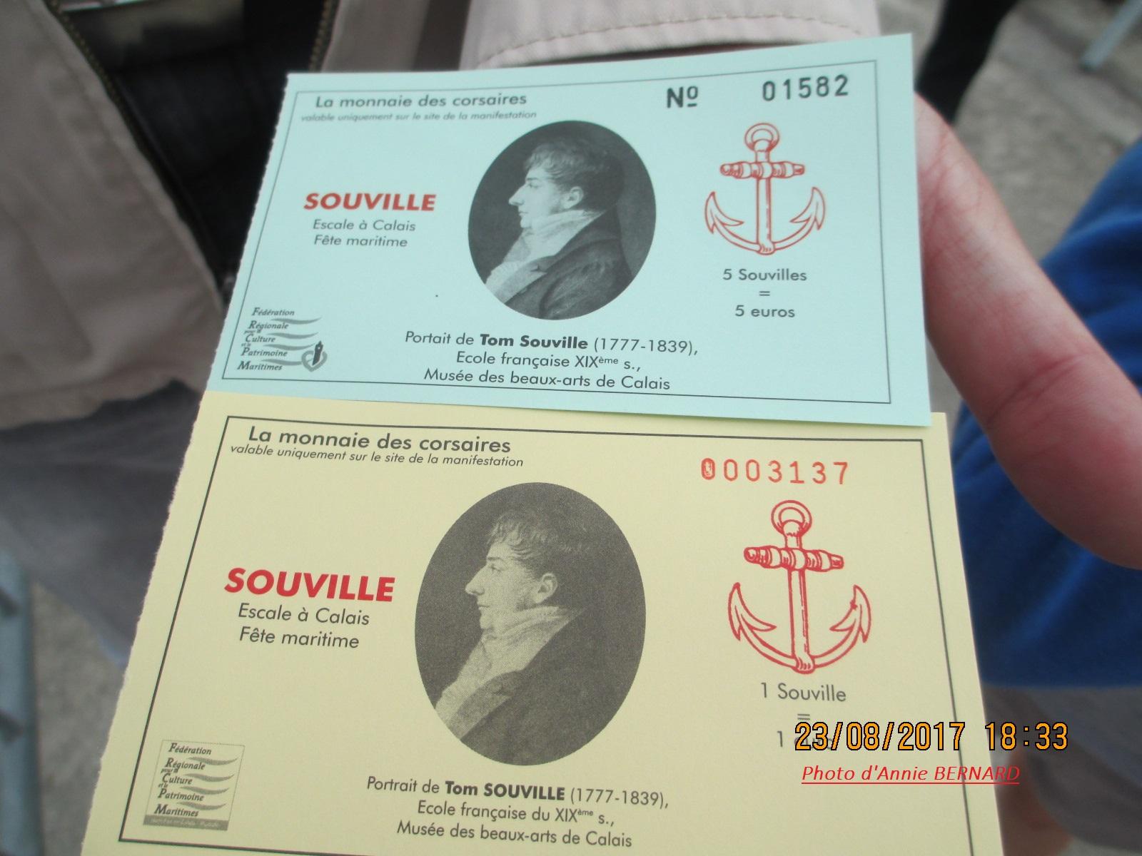 Le Tom Souville pour une visite de bateau à Calais