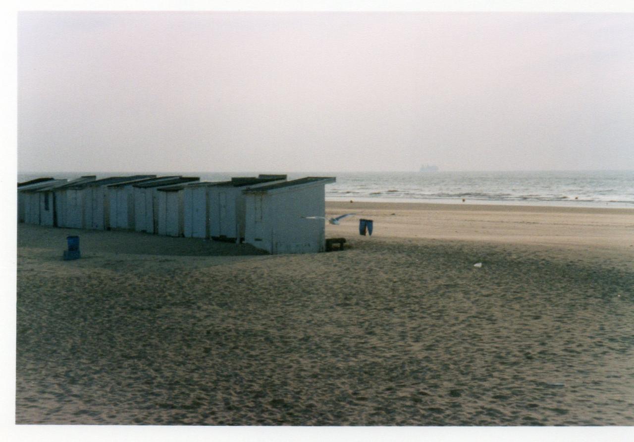 Rétro, la plage de Calais