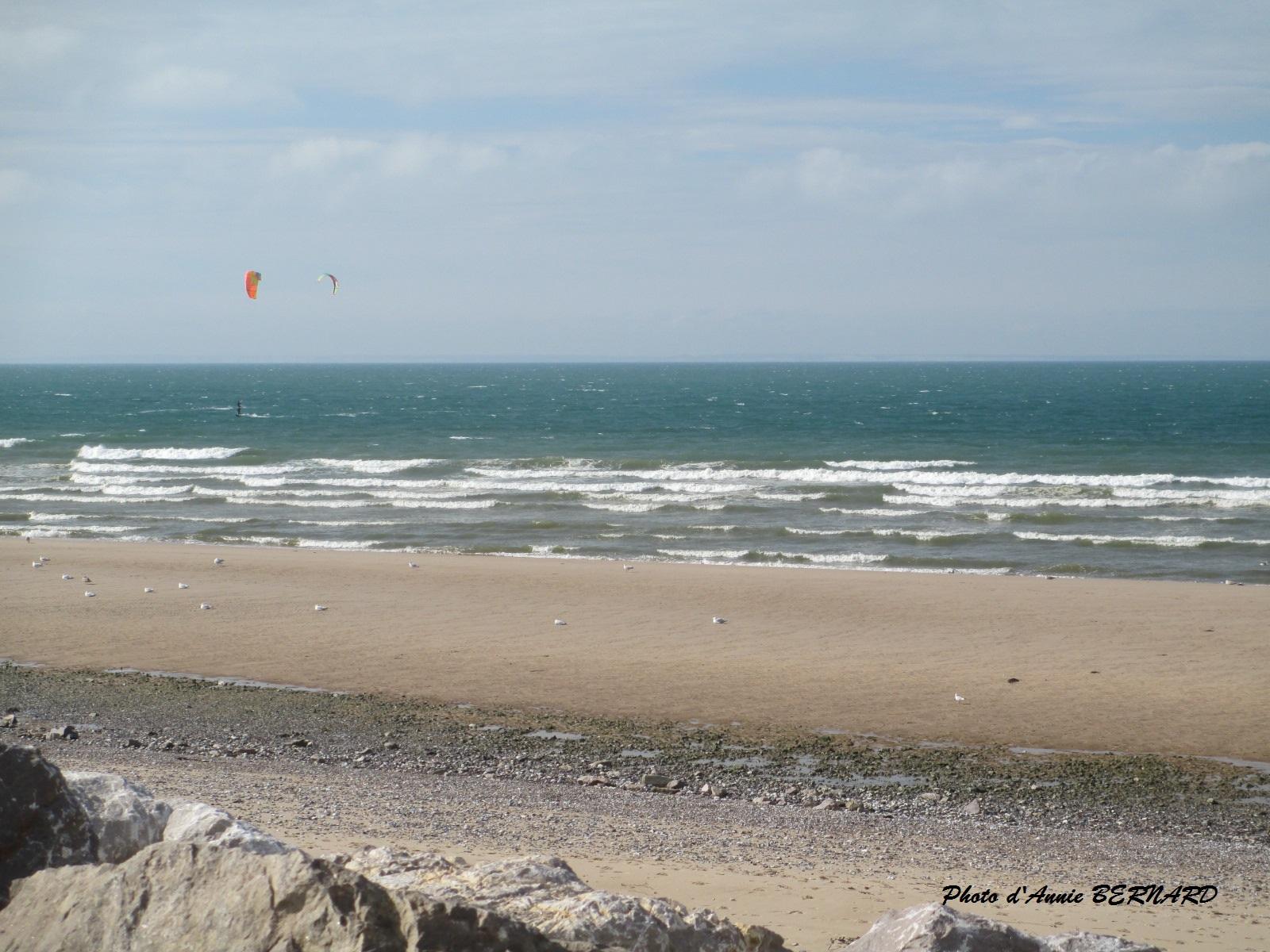 La mer devant Sangatte