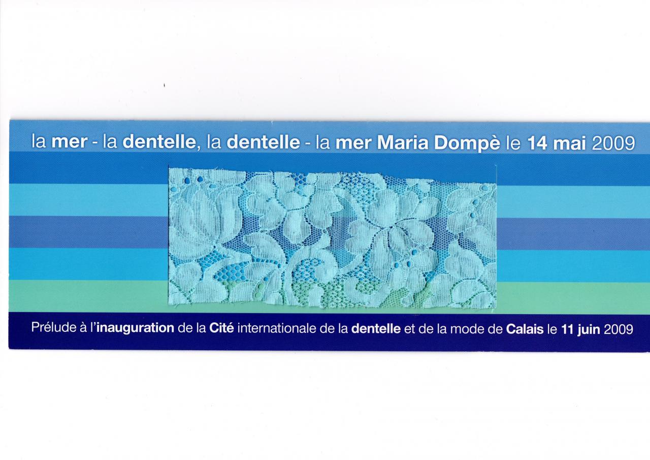 Prélude à l'inauguration de la Cité Internationale de la Dentelle et la Mode le 11-06-2009