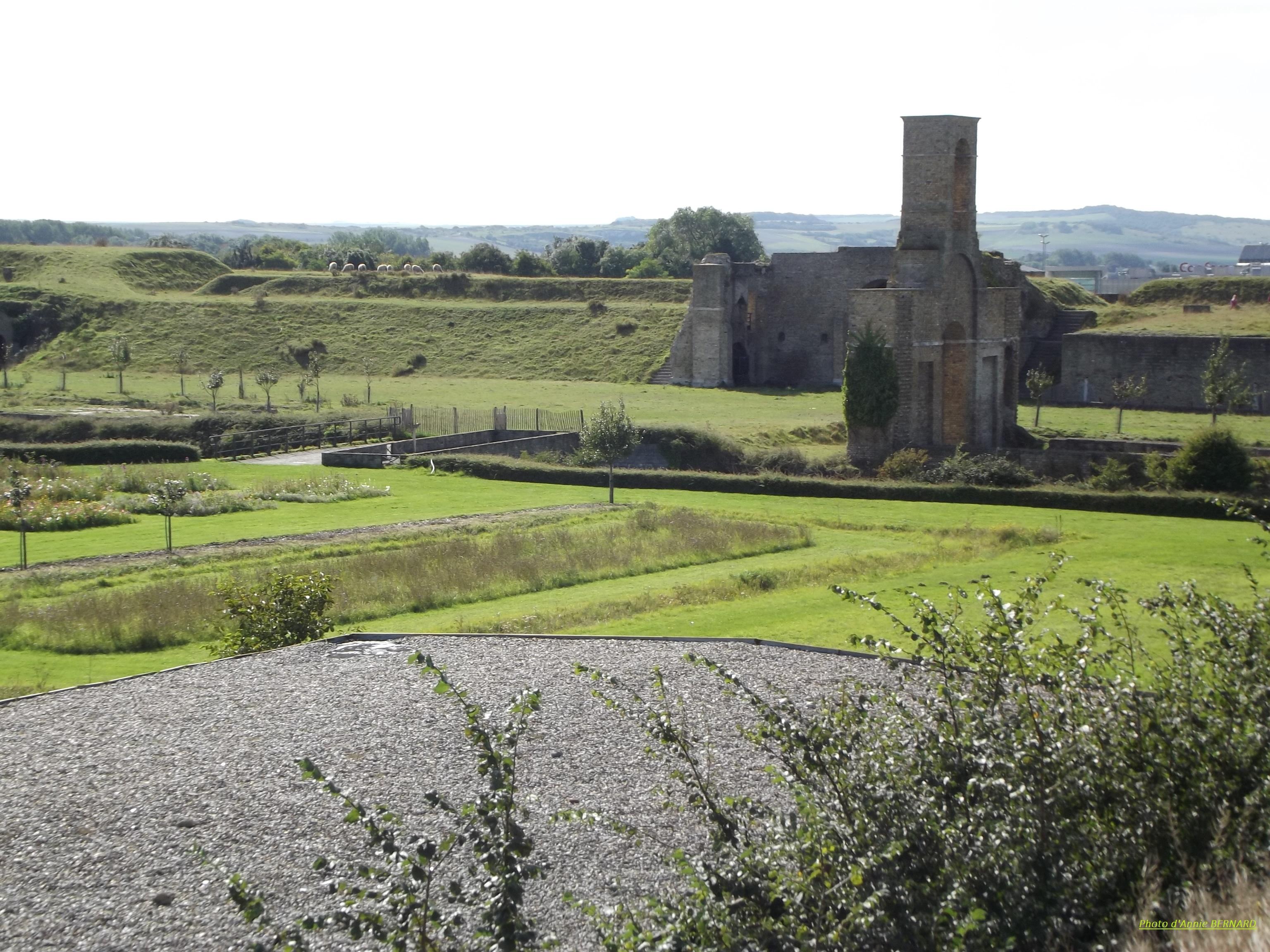 Vue sur le site du fort