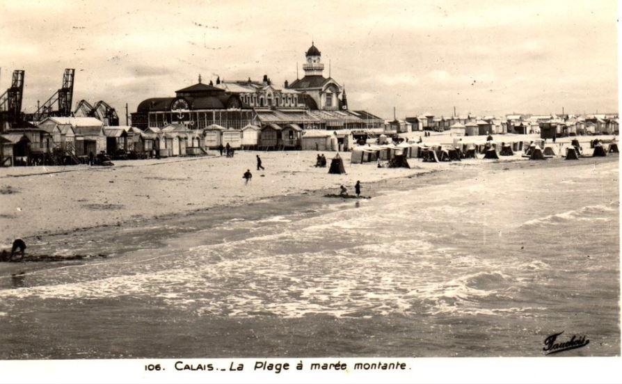 Le casino de Calais à la Belle Epoque