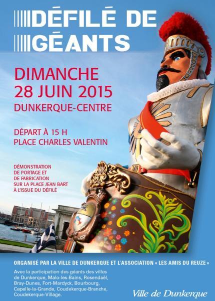 Dunkerque et les géants