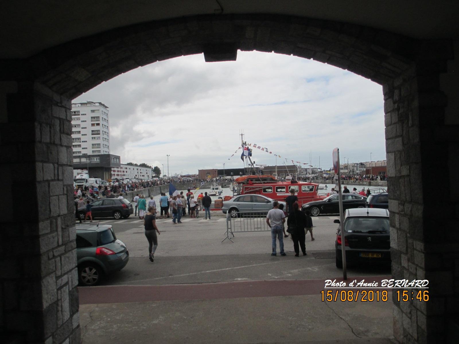 Vue depuis le quai Auguste Delpierre au Courgain  maritime