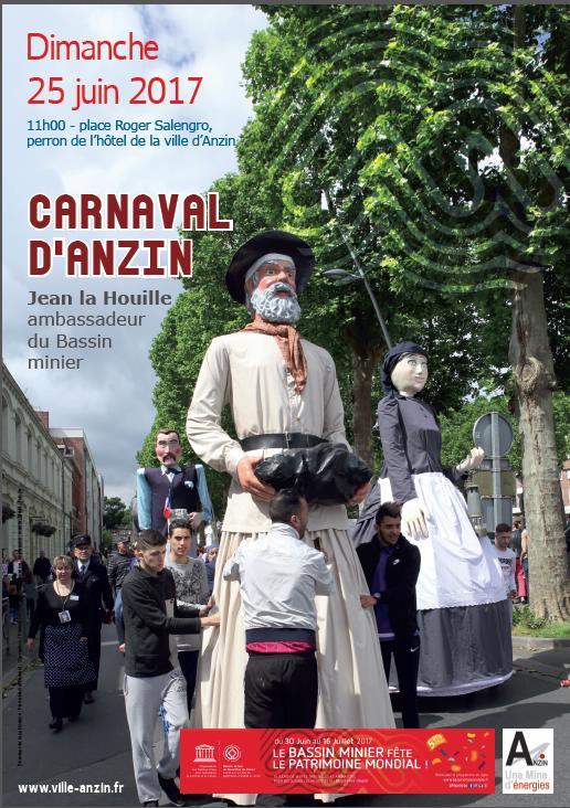 Carnaval d'Anzin du 25 juin 2017