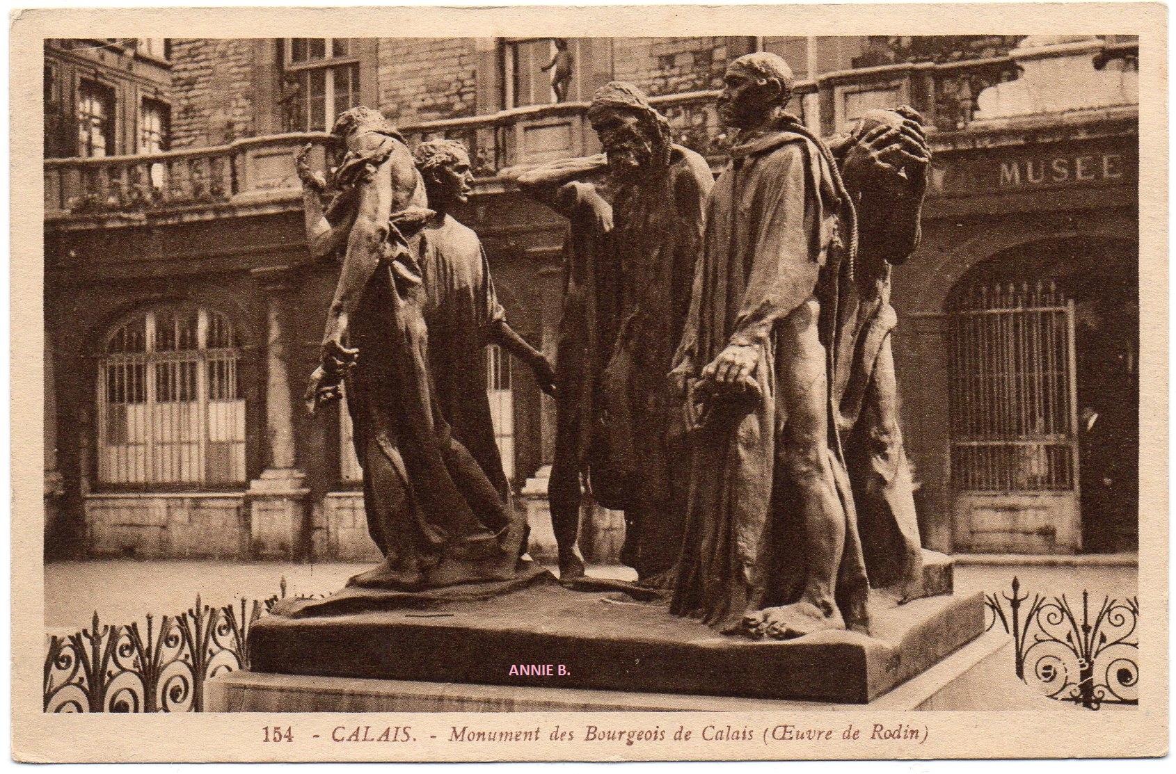 Le monument des Six Bourgeois de Calais
