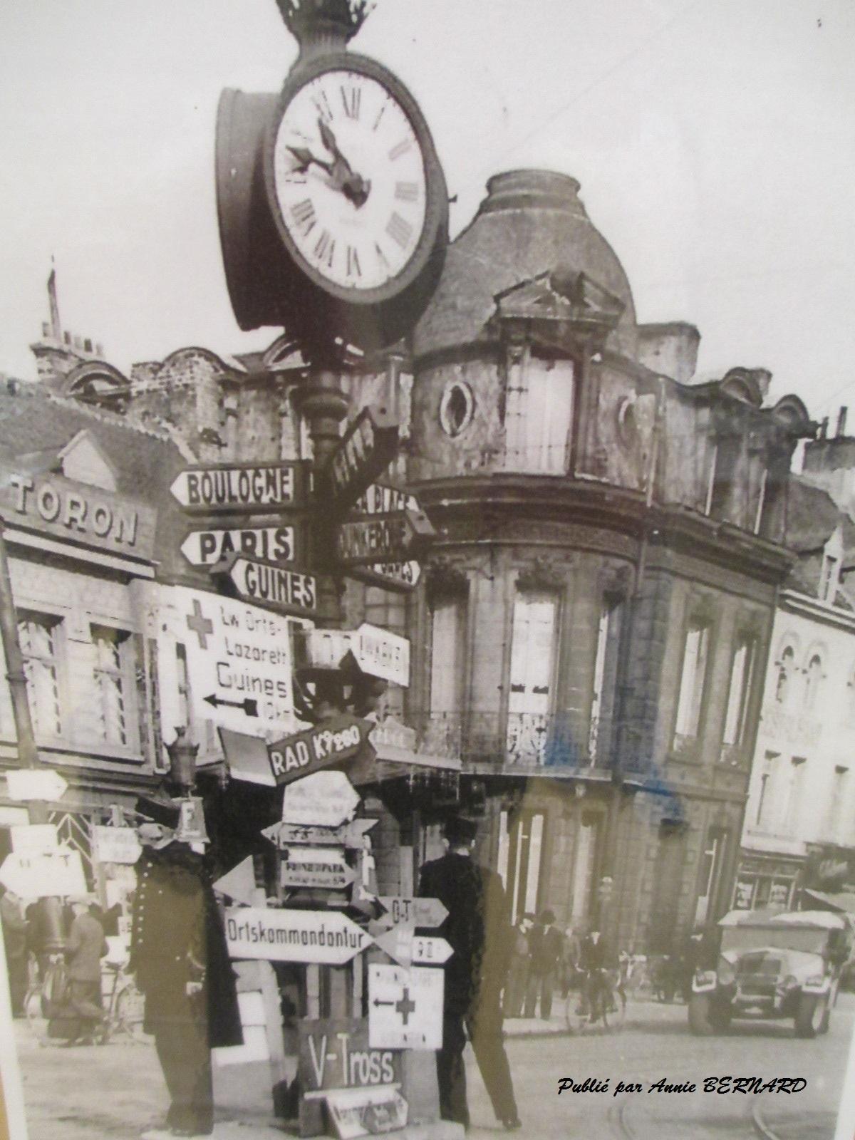 Les quatre boulevards pendant l'occupation en 1939-1945