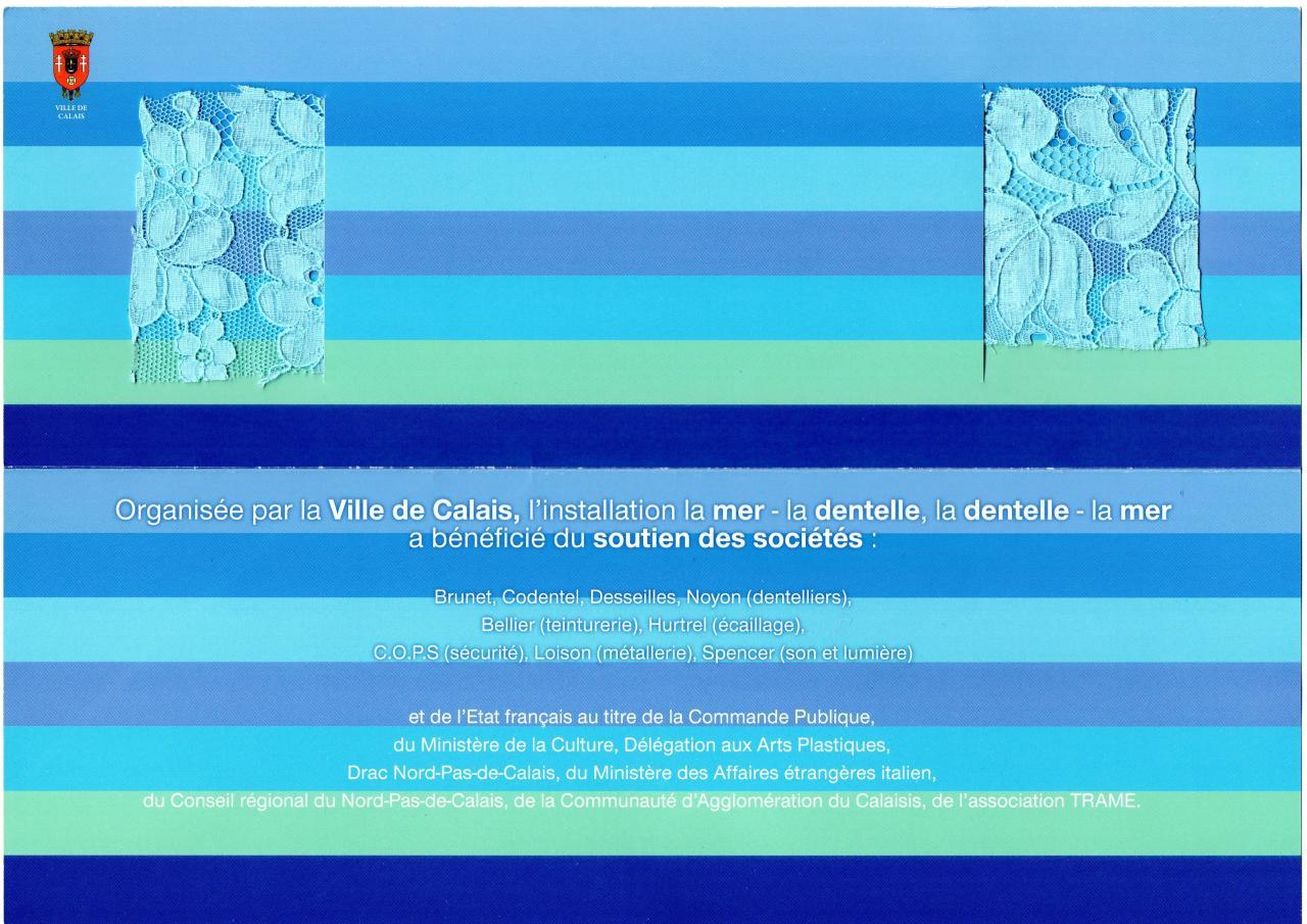 Diverses collaborations pour l'inauguration de la Cité de la Dentelle