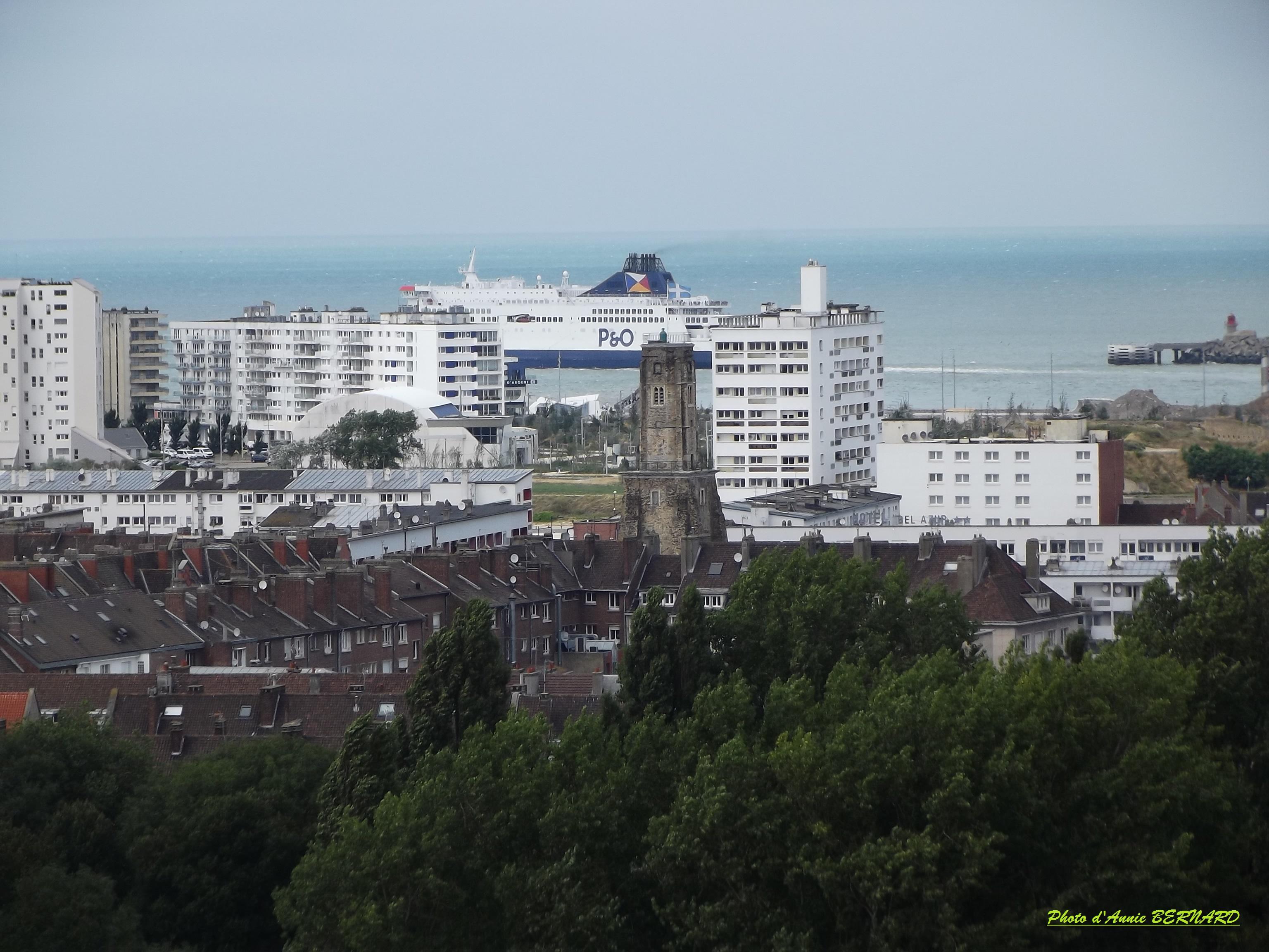 Vue sur Calais- Nord