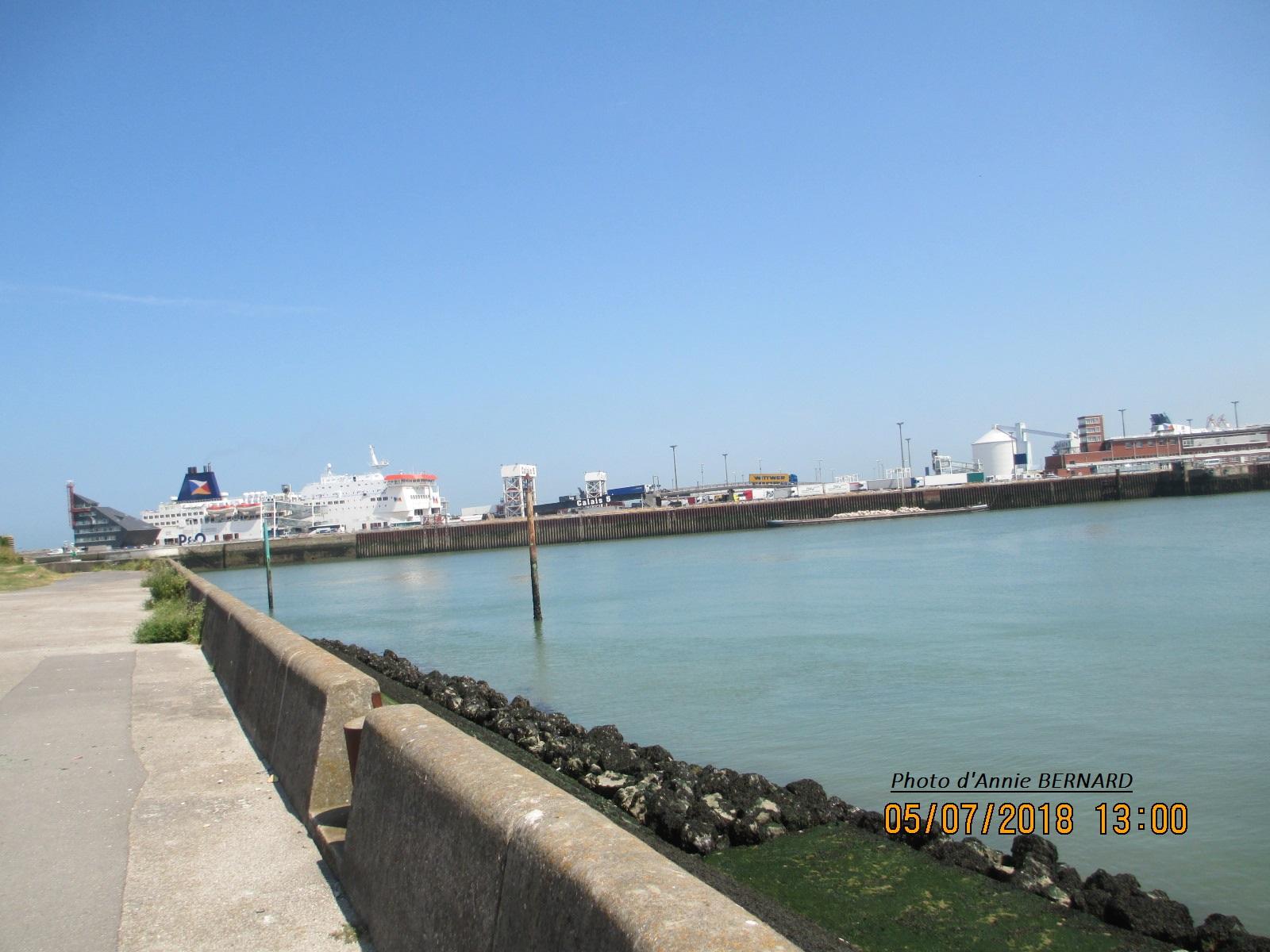 Vue sur le Courgain Maritime depuis le Fort Risban