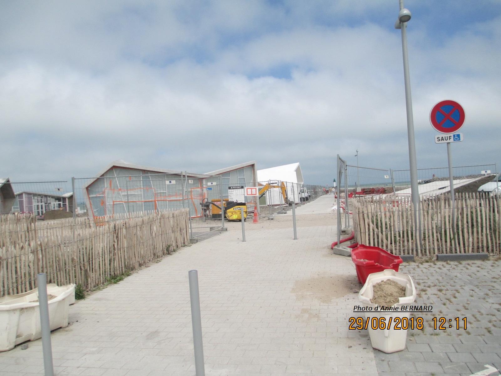 Aménagement du front de mer à Calais