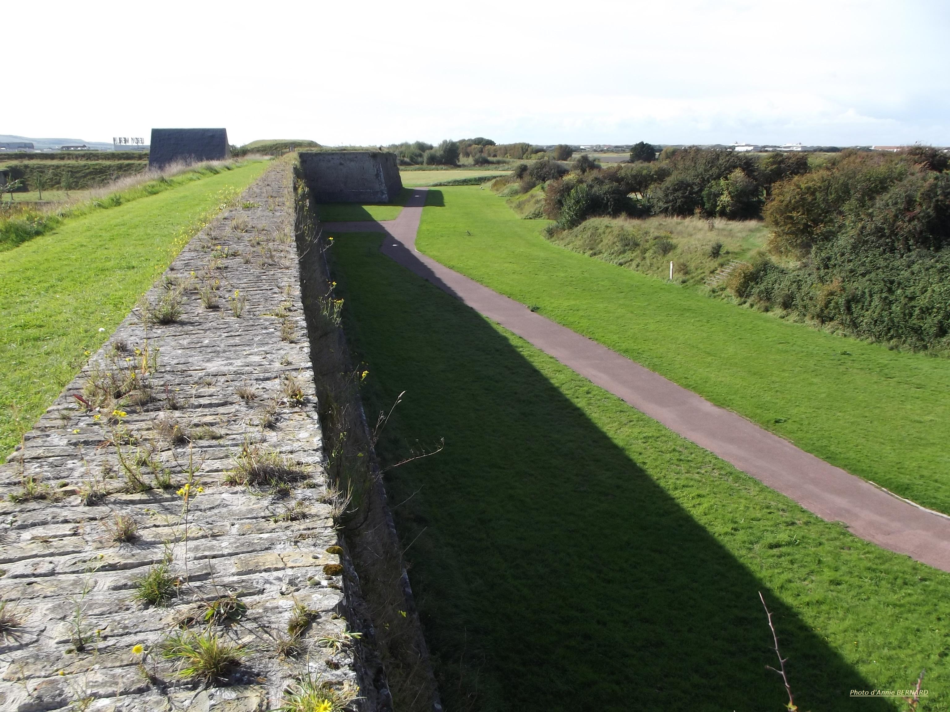 Une des murailles du Fort