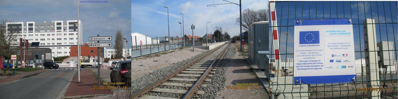 Quartier du Beau-Marais et son arrêt de trains