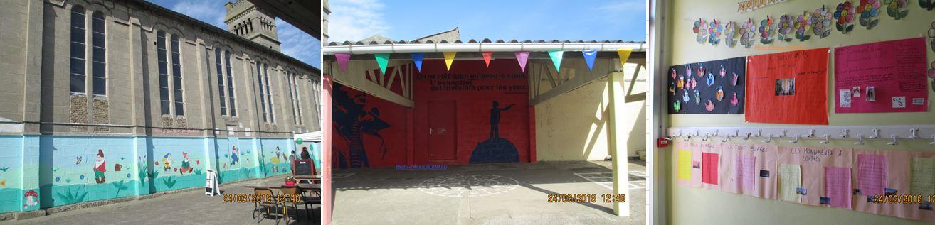 Quartier du Beau-Marais, école Saint-Vincent Saint-Charles