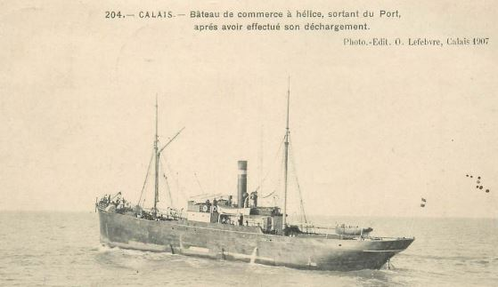 Ancien bateau de commerce