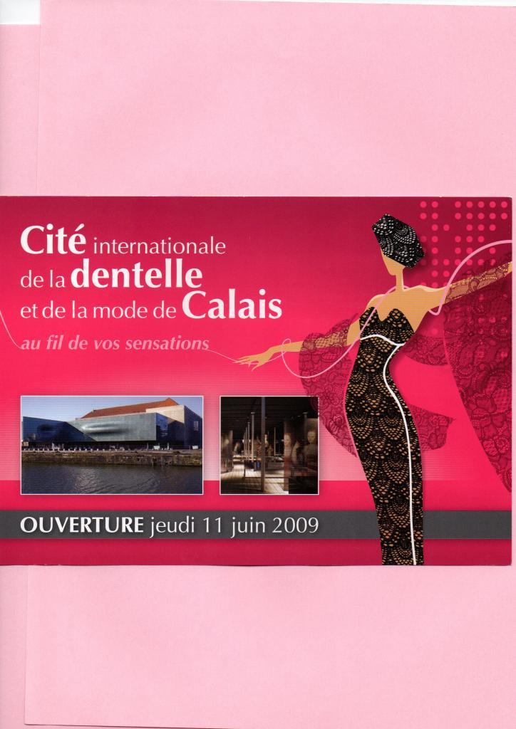 Exposition à la Cité de la Dentelle de Calais en 2009