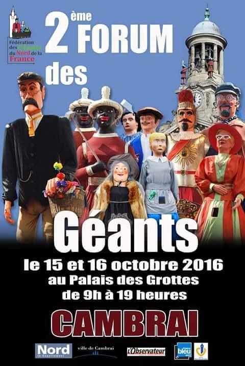 Des géants à Cambrai