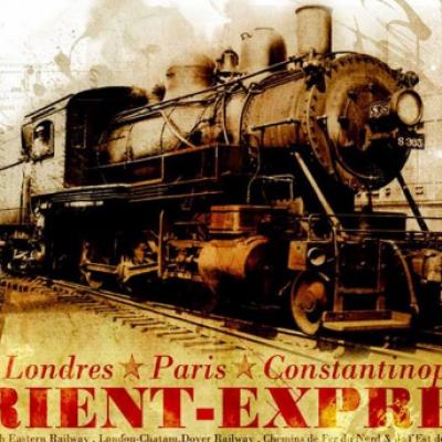 Le train  l'Orient Express ... De Calais en Orient