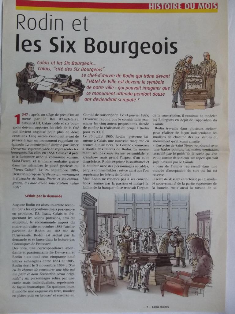 Rétro, Rodin et les Six Bourgeois