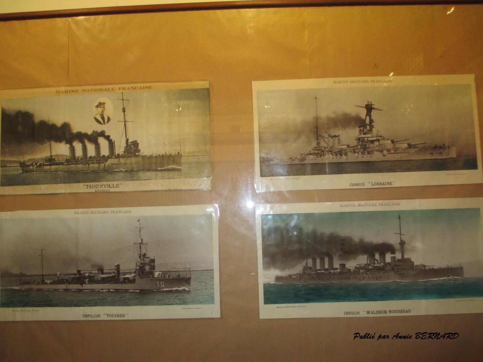 Bateaux d'autrefois
