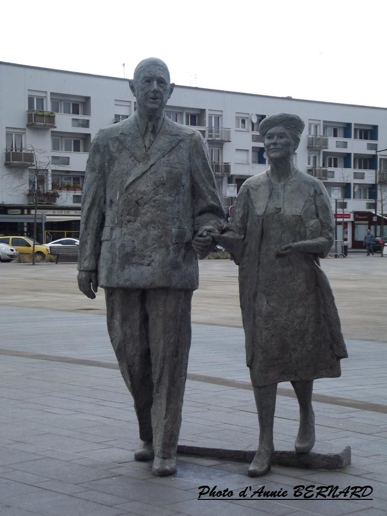 Charles de Gaulle et Yvonne Vendroux