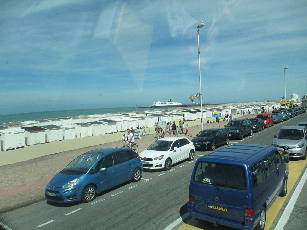 Un bel après-midi à la plage de Calais