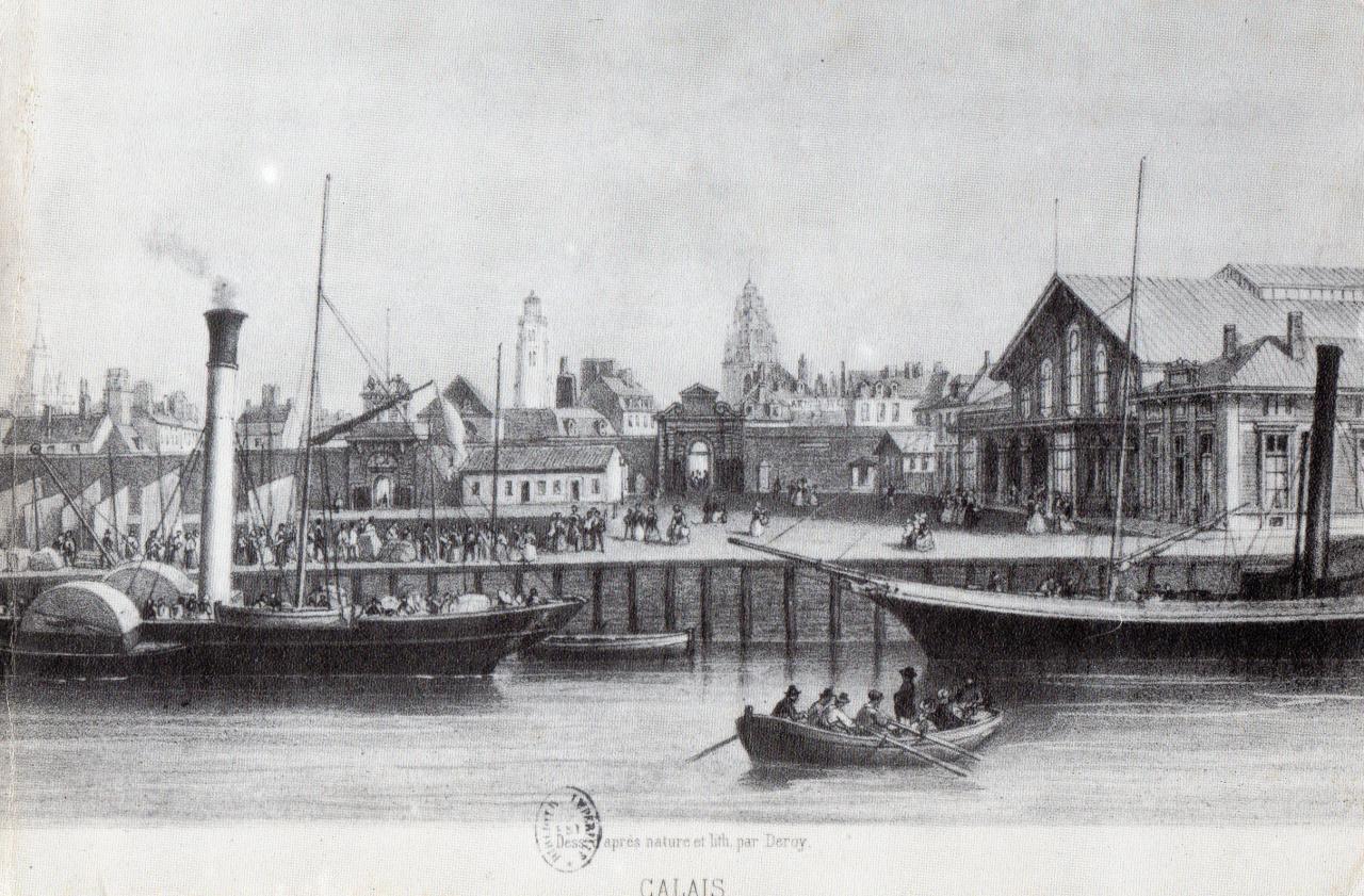 Rétro, port de Calais