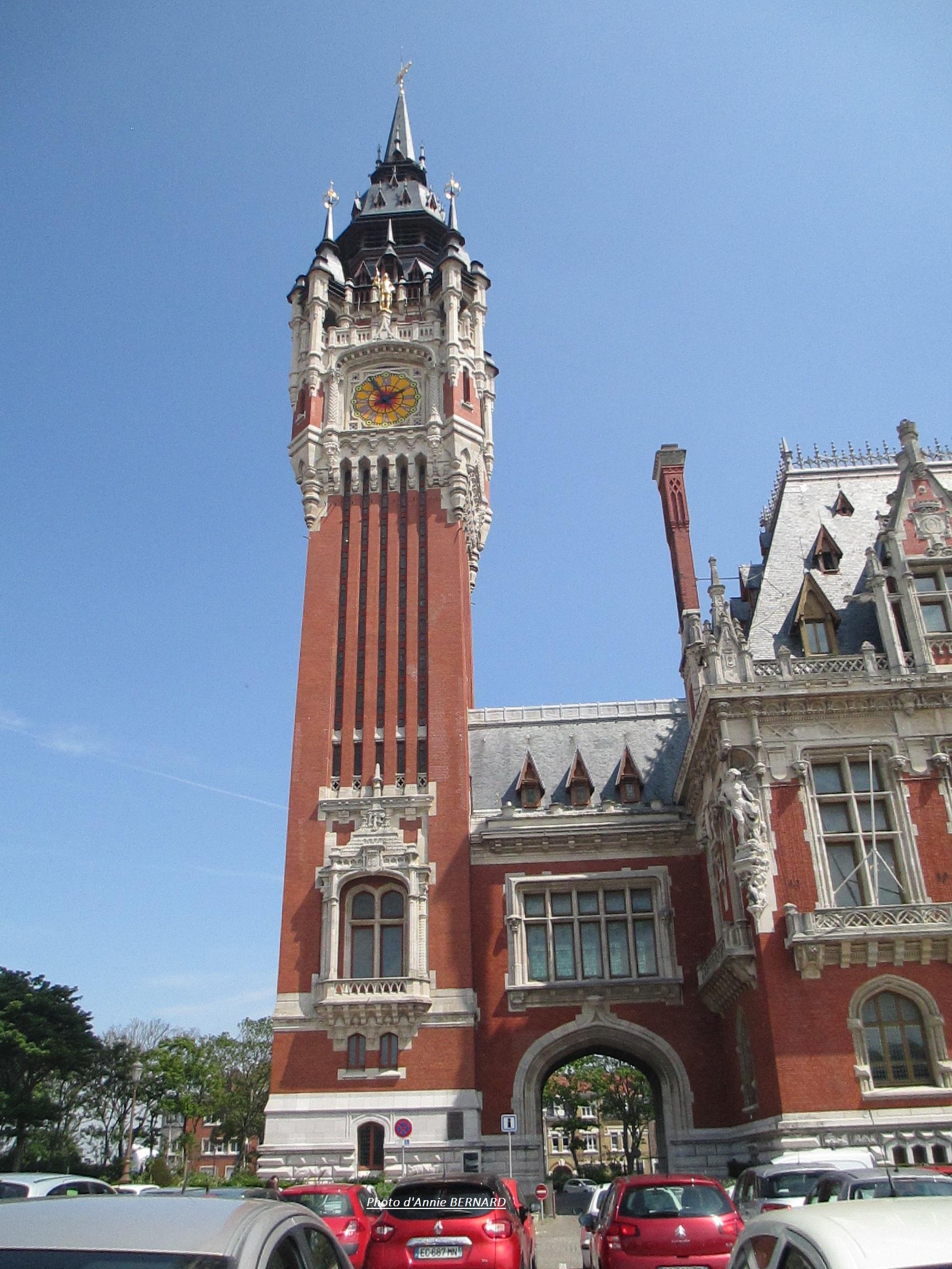 Beffroi de l'Hôtel de ville de Calais