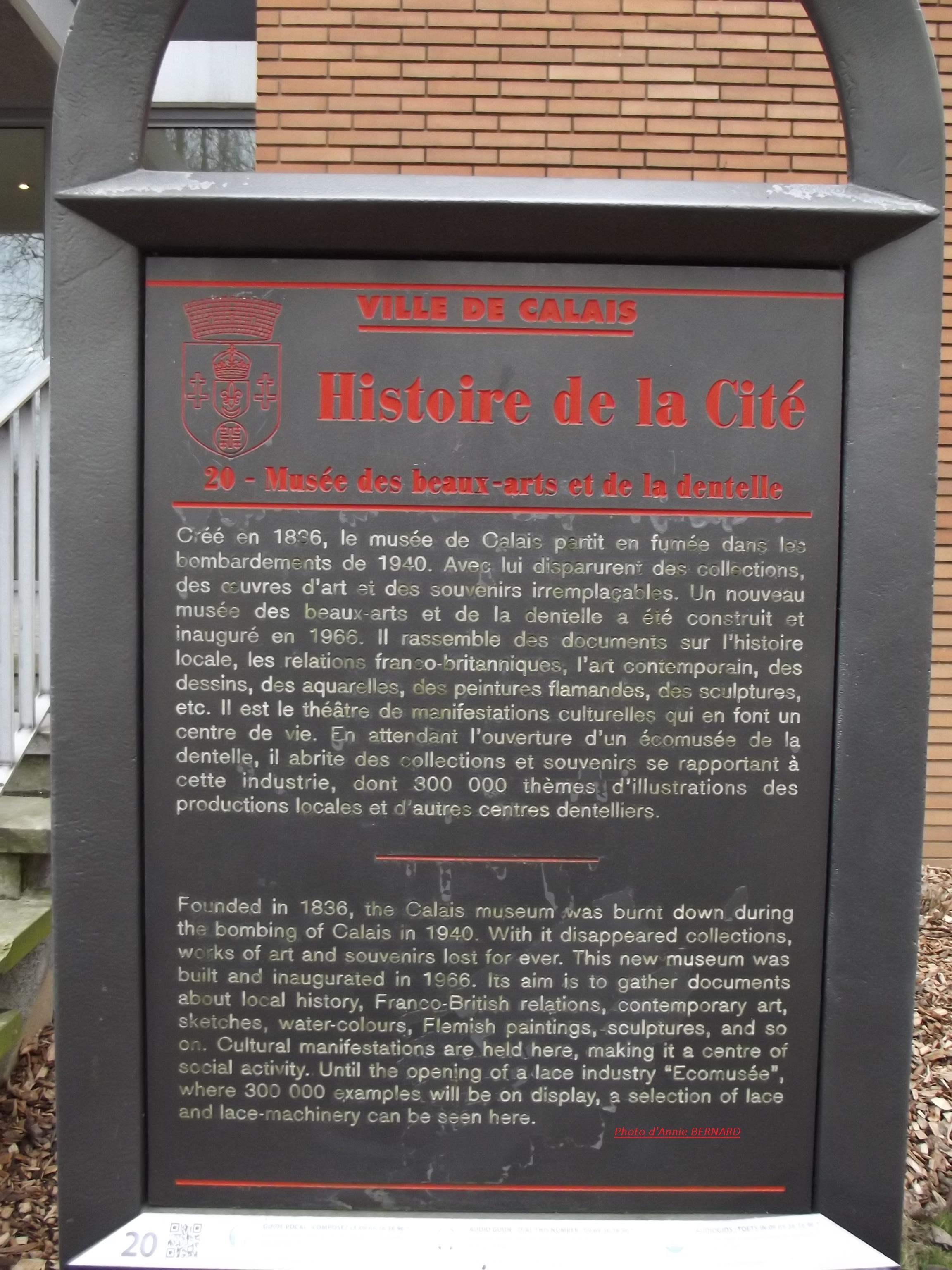 Informations sur le musée