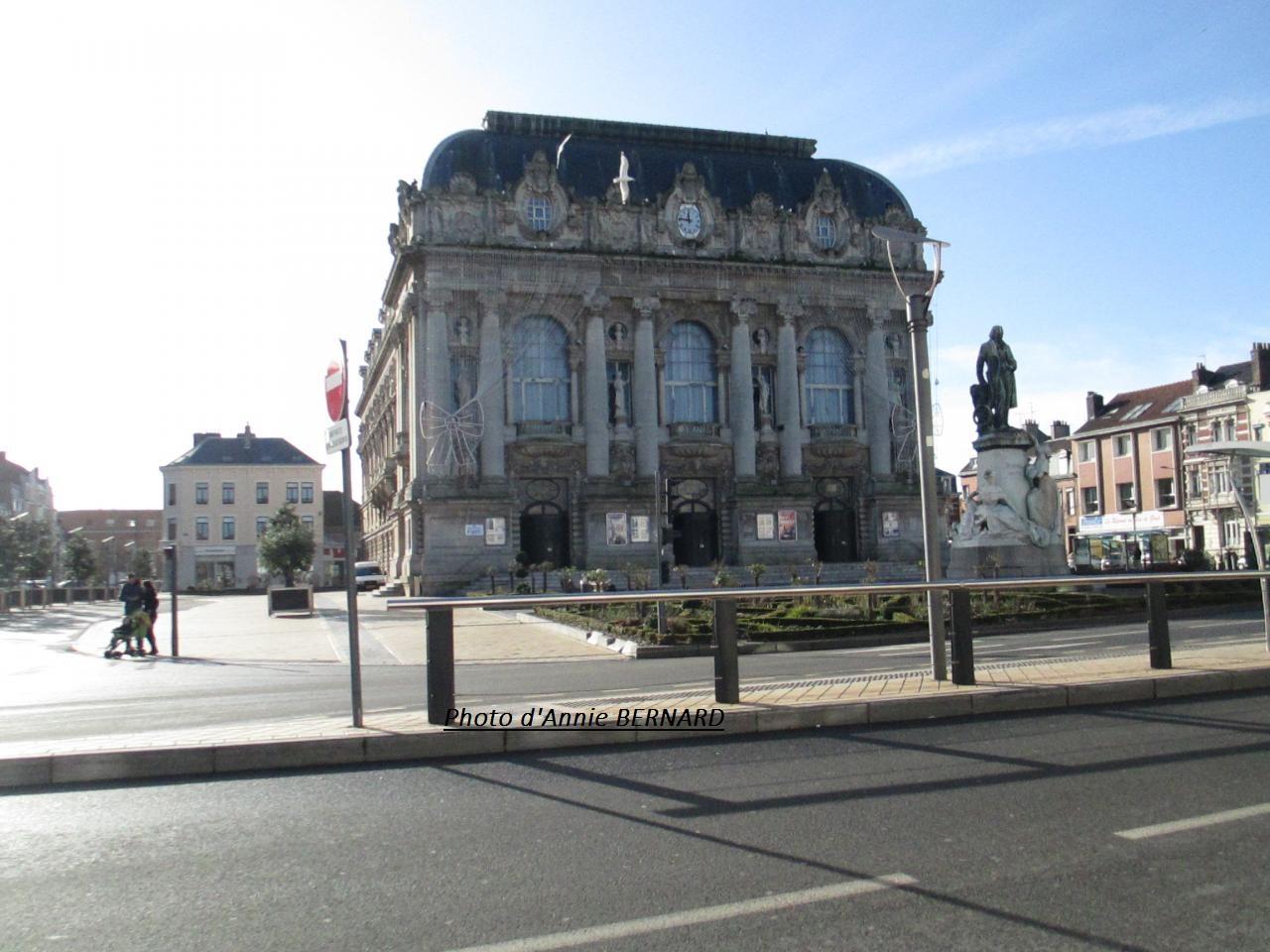 Centre ville, quartier du théâtre