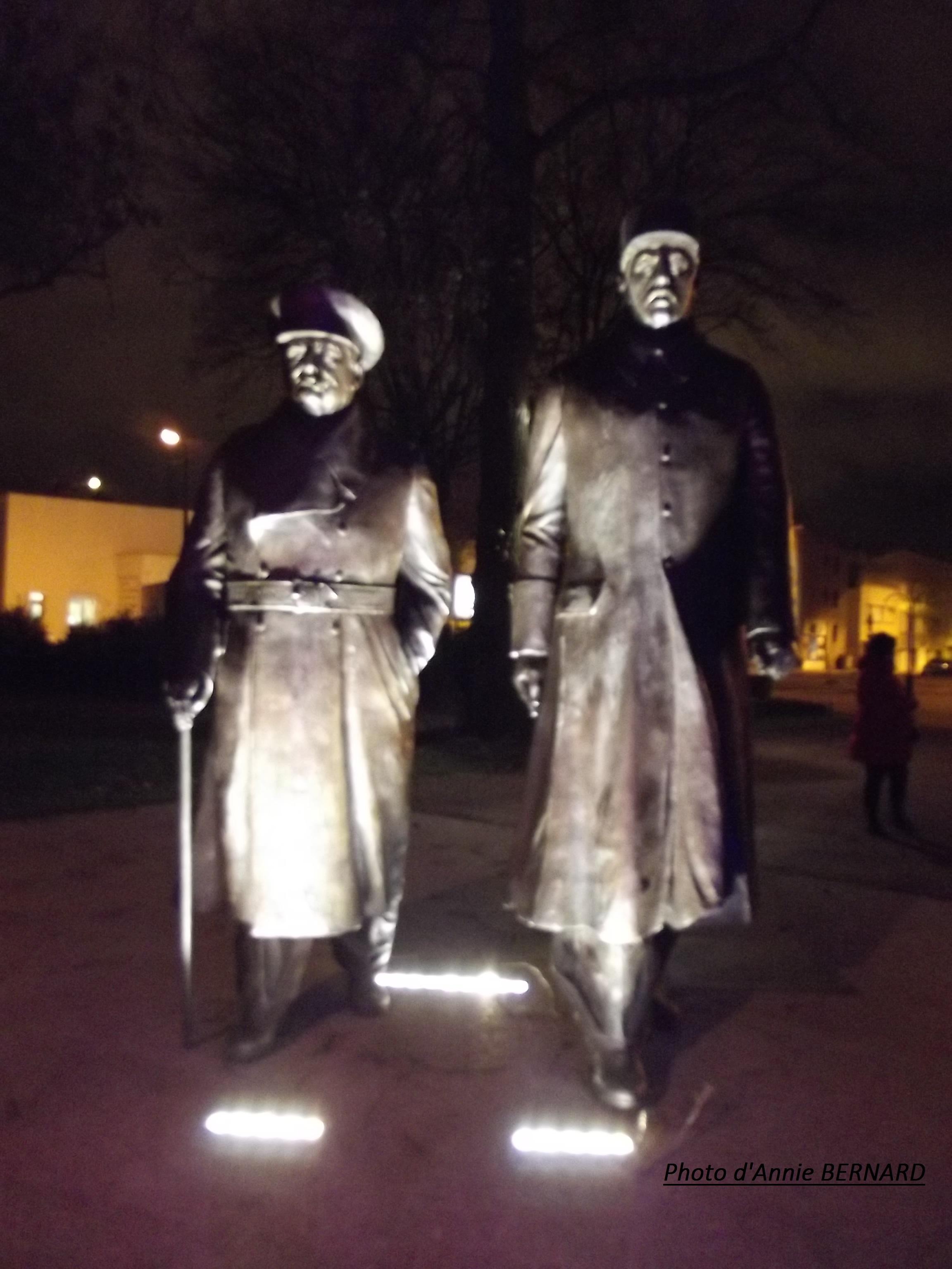 Le général De Gaulle et Sir Winston Churchill