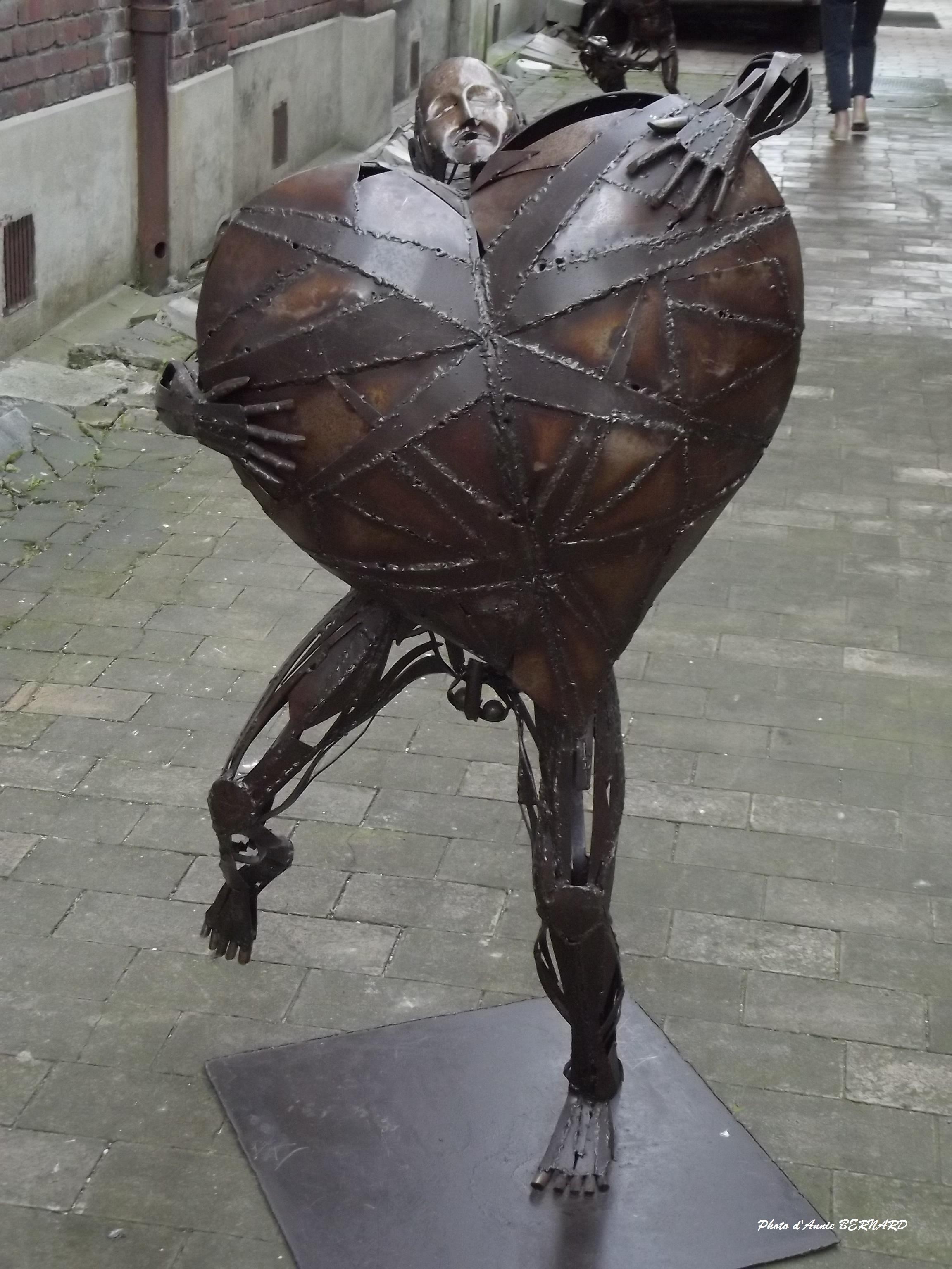 Sacha FASQUEL, calaisien et sculpteur de métaux
