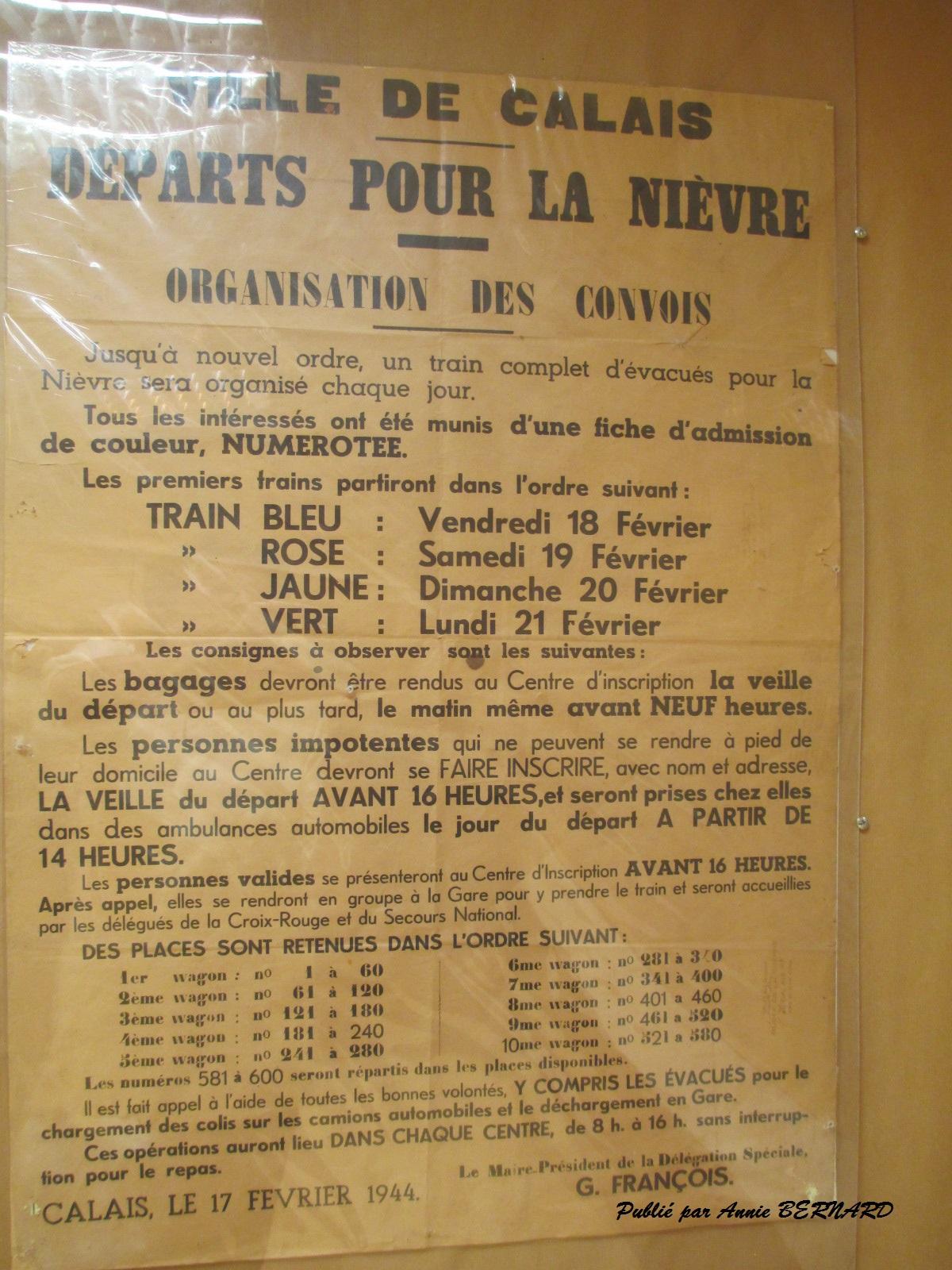 Publication de la ville de Calais