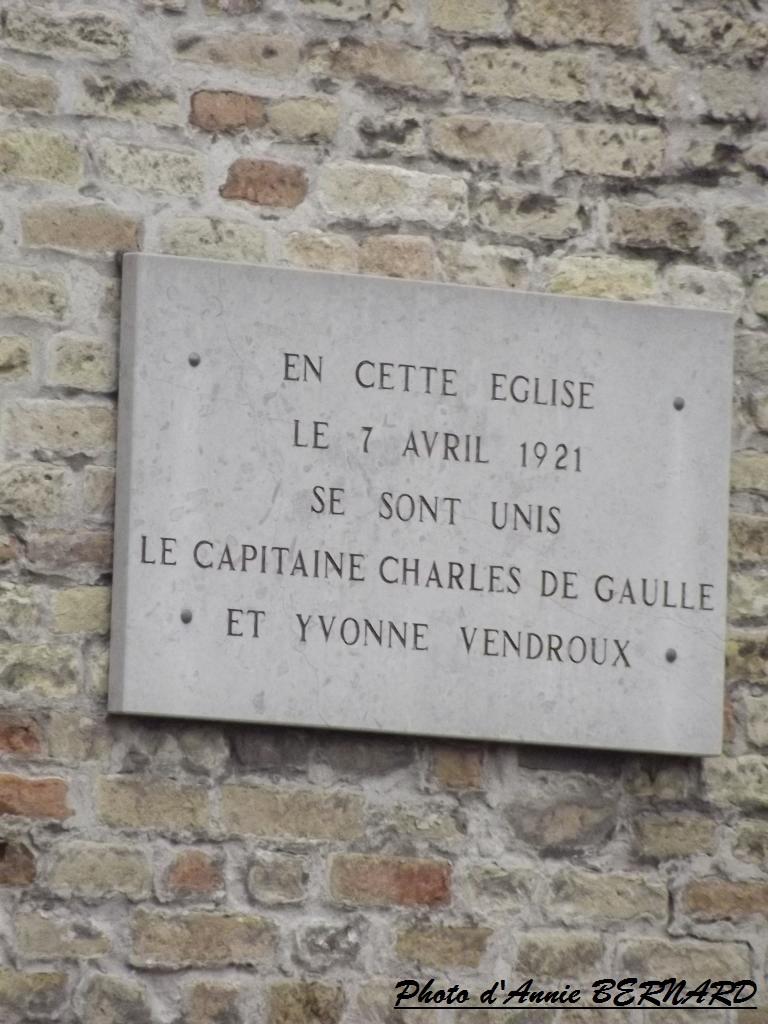 Informations sur Monsieur et Madame De Gaulle