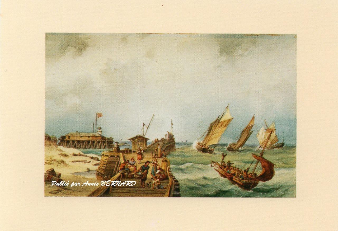 Une peinture sur les bateaux arrivant sur Calais
