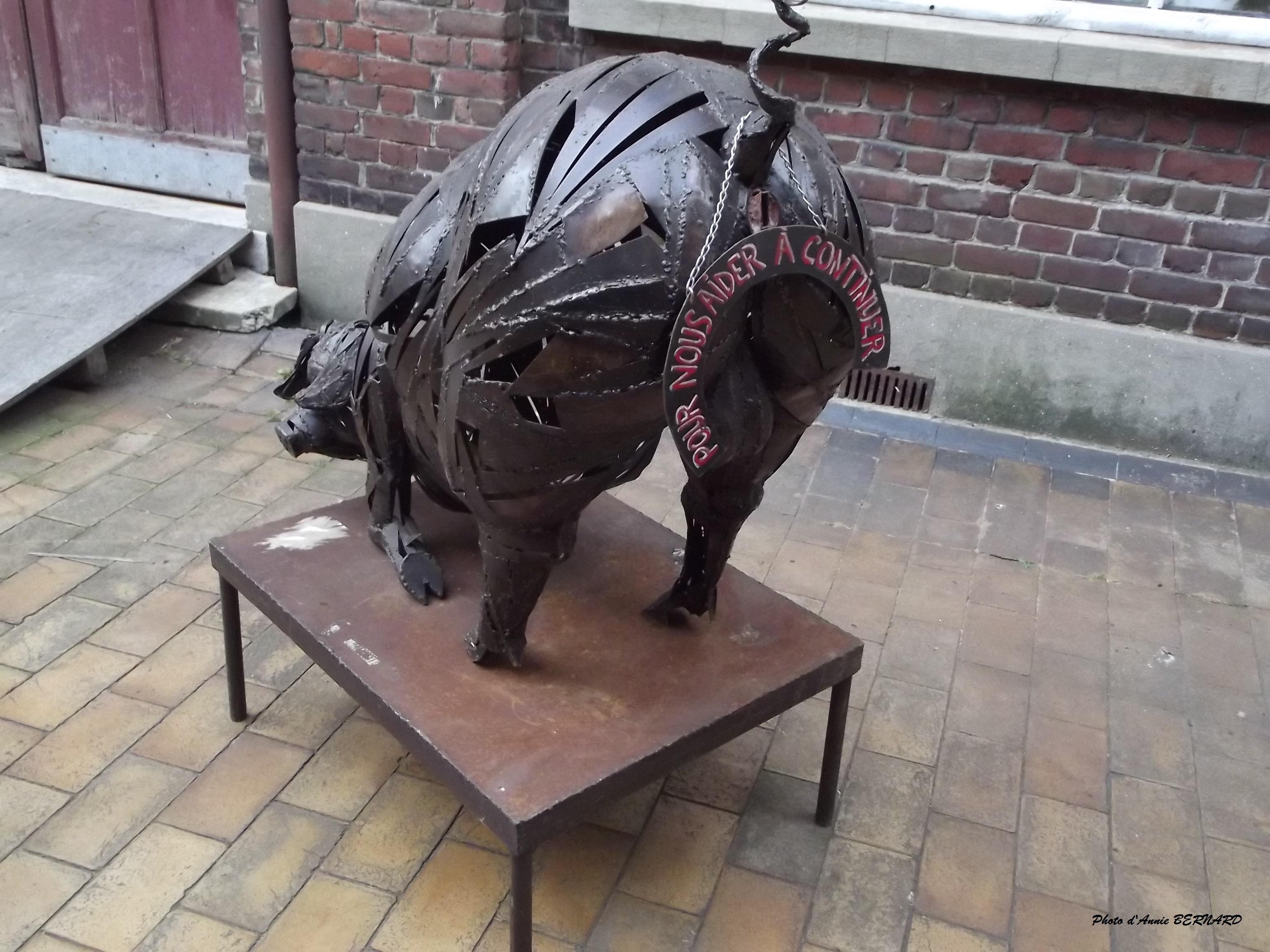 Un cochon par ici